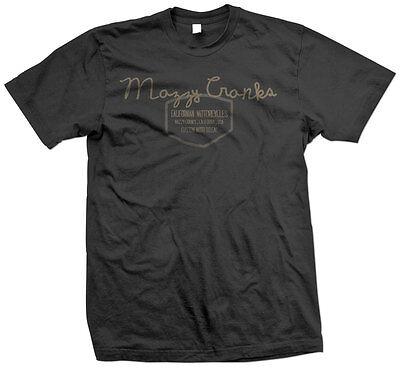 Mazzy Cranks So Cal vintage Bike Bobber Custom motorcycle 100% cotton t-shirt