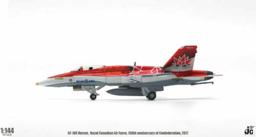 150th CF-188 Hornet Royal Canadian Air Force JC Wings JCW-144-F18-002 1:144