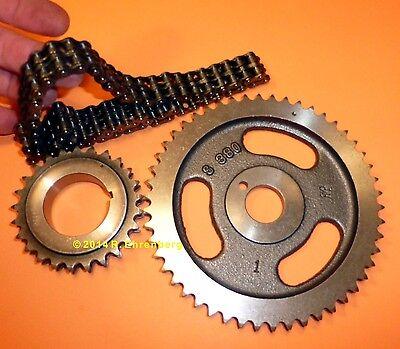 ✔✔ Mopar  383-400-440 Big-Block True Roller Timing Chain Sprocket Gear Set USA