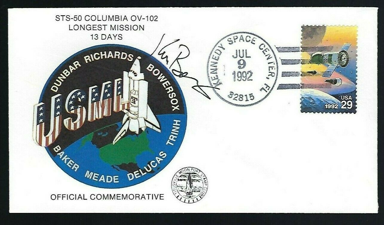 s l1600 - Ken Bowersox signed cover NASA Shuttle Astronaut