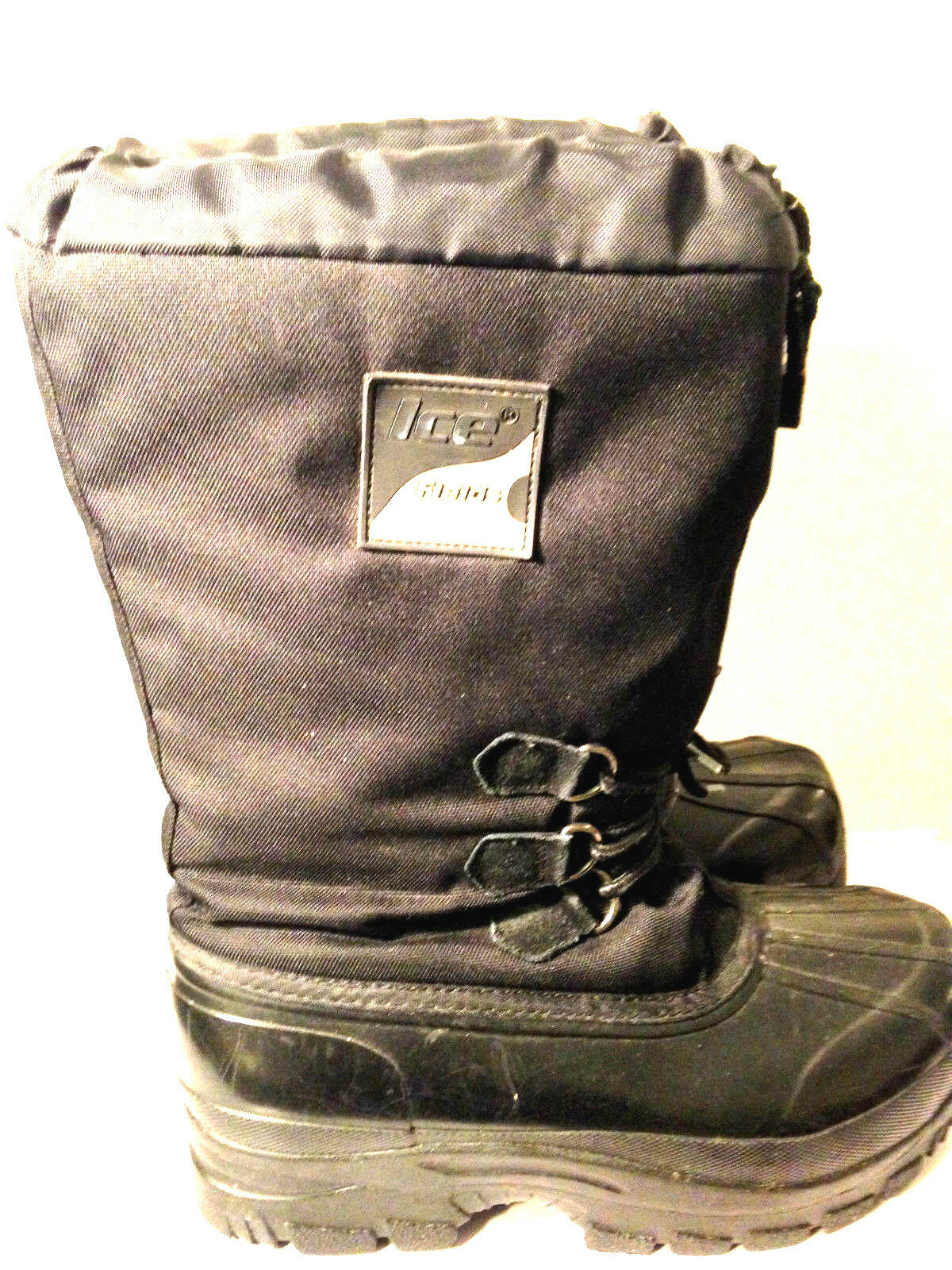 Ice Fields15  TALL Winter   Snow Mobile  Si- Doo Boots SZ. 11US.