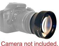 58mm 2.2x Telephoto Zoom Lens Fits Canon Rebel T3 T4 T5 T5i 30d 20d Xsi 6d 7d