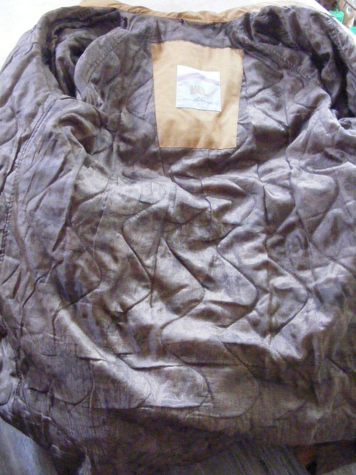 Damen Damen Damen Mantel, lang, gefüttert, Kapuze, gr.40, khaki-braun   Moderne Technologie    Sehr gelobt und vom Publikum der Verbraucher geschätzt  b05096