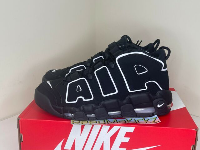 EUC Nike Air More Uptempo 2016 Pippen Basketball Shoes SNEAKERS Black 12  414962