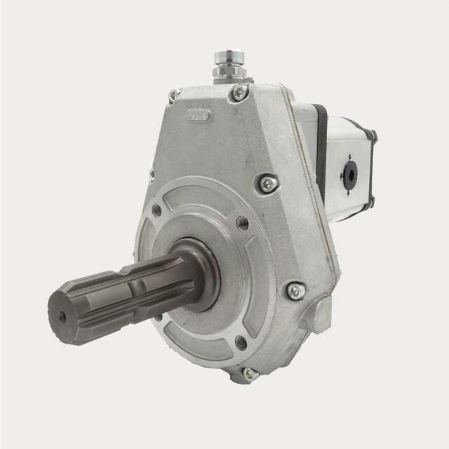 Befestigungsplatte Zapfwellengetriebe mit Stummel BG2 Halteplatte Getriebe