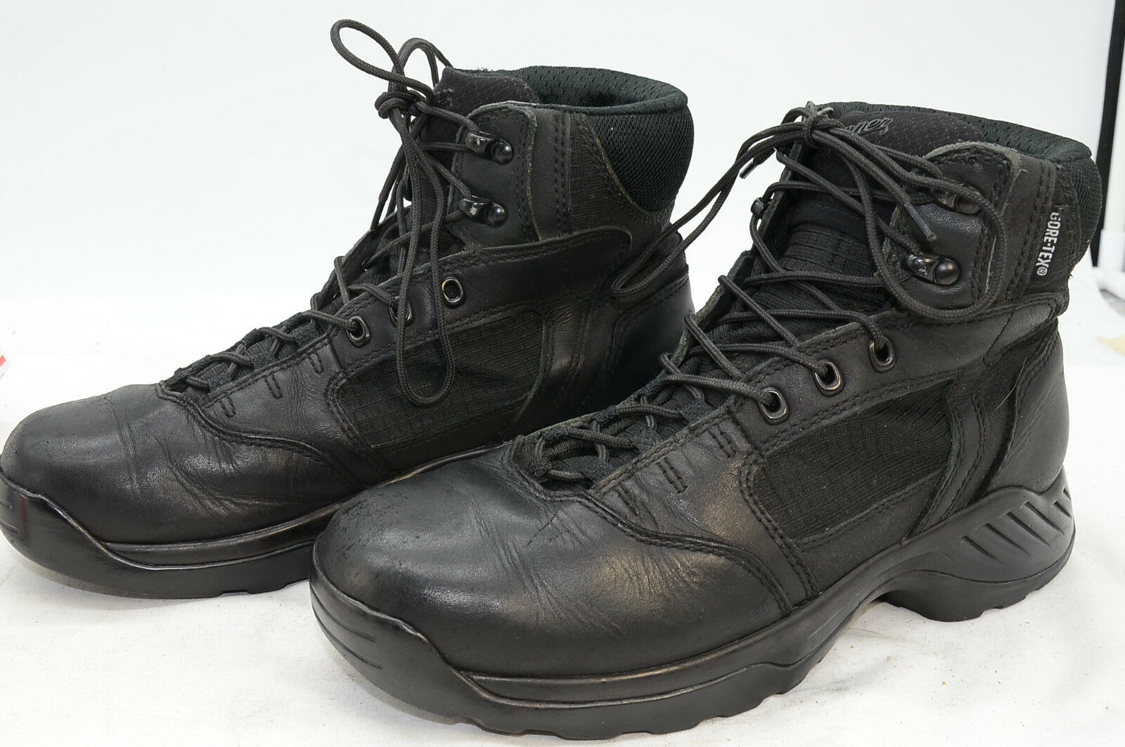 Danner GTX Women's Kinetic Breathable Waterproof WORK UNIFORM POLICE Boots Sz 10