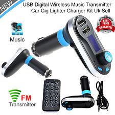 Wireless Bluetooth Car Kit FM Transmitter Player MP3 Radio Adapter USB Charger