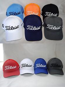 a7c5df028db New Titleist FootJoy FJ Pro V1 Men Baseball Golf Cap Stretch Fit Hat ...