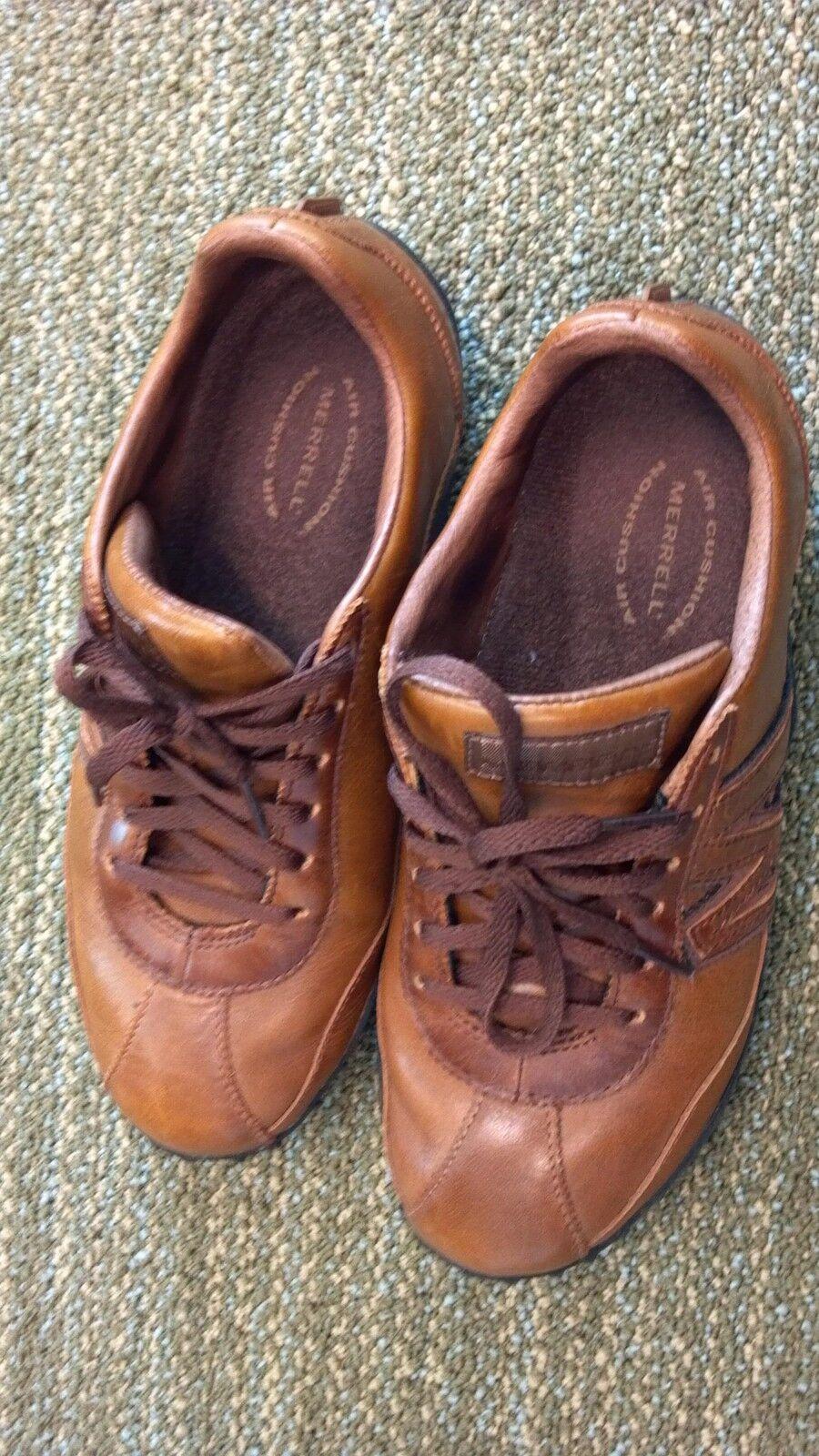 Merrell Merrell Merrell Zapato De Cuero, Para Mujer Talla 7 Usado En Excelente Condición  excelentes precios