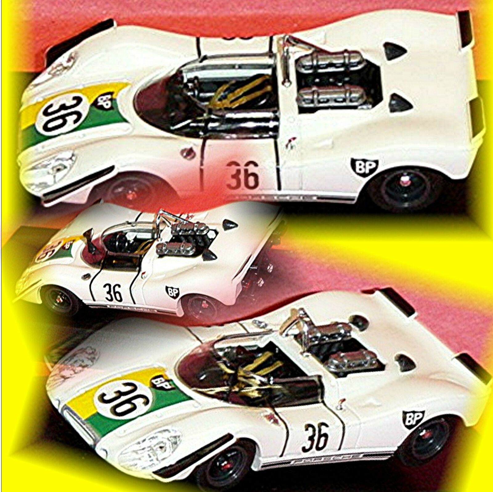 Porsche 908 2 Zeltweg 1970 M. Gregory  36 1 43 BEST 9066