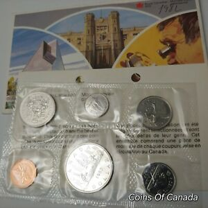 1982-Canada-Prooflike-6-Coin-Original-Set-Multiple-Sets-Available-coinsofcanada