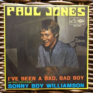 PAUL-JONES-I-039-ve-been-a-bad-bad-boy-promo-7-034-45-giri-vinyl-Red-Ronnie