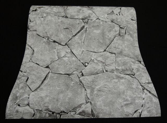 """hochwertige Papiertapete /""""It/'s me/"""" Bruchstein Stein grau dunkelgrau 05592-10"""