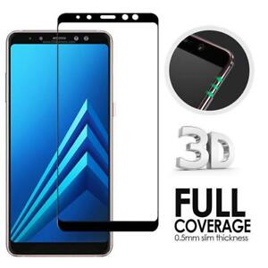 For-Samsung-Galaxy-A6-2018-amp-A7-A8-2018-9H-Full-Tempered-Glass-Screen-Protector
