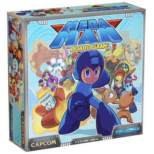 CAPCOM Mega Man Man Man The Board Game English Ver. with Miniature figures NEW Rare F S 0cee28