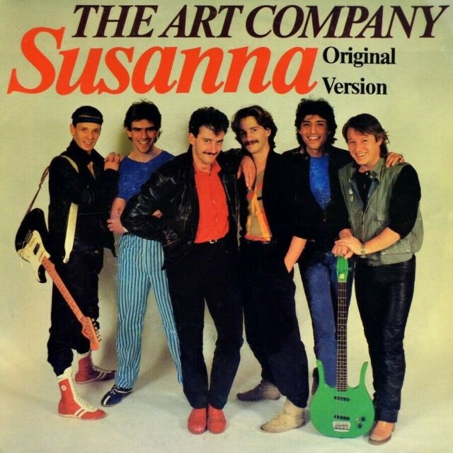 "7"" THE ART COMPANY Susanna CBS Original Version VOF DE KUNST NL 1983 like NEW!"