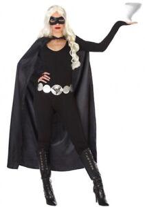 Deguisement Femme Tornade Noir Xs S 36 38 Super Hero Cinema Film X
