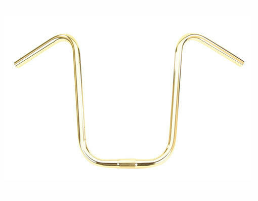New  Lowrider Bike U Handlebar 15  25.4mm gold 169-149