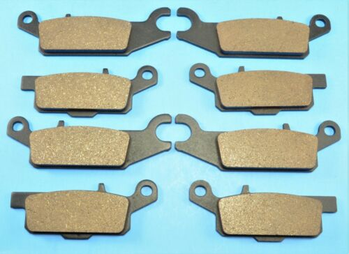 2007-17 Front /& Rear Brake Pads For YAMAHA Grizzly 700 YFM700 FI Hunt EPS 4WD