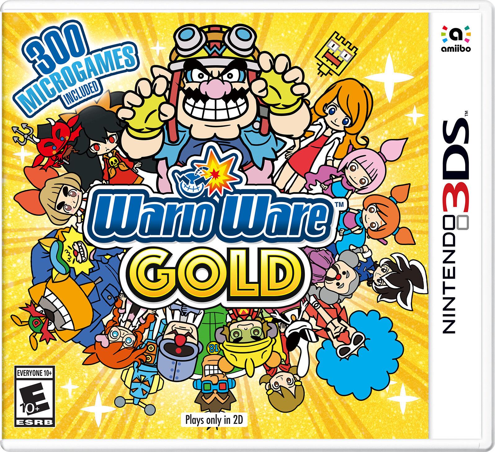 WarioWare Gold (Nintendo 3DS, 2018)