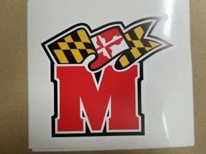 Maryland Terrapins cornhole board or vehicle decal(s)MT4