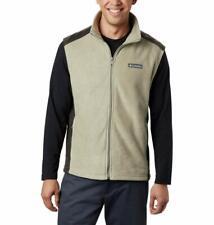 Columbia Men/'s Steens Mountain Vest Marine Fleece Jacket Black Grey S M L 4XL