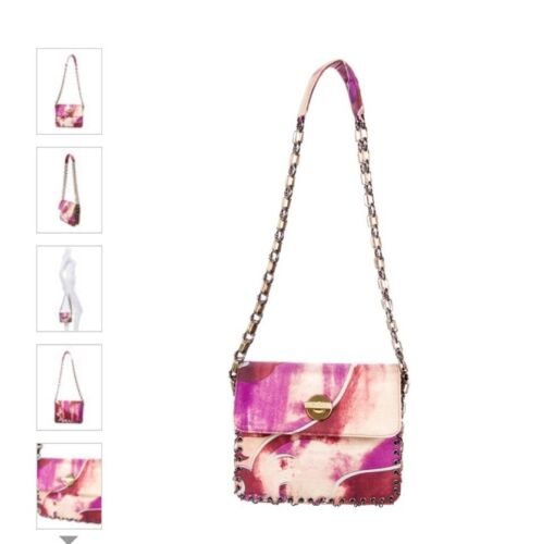 Emilio pucci purse bag PAID $795 Purple Pinks Whit