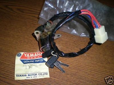 NOS Yamaha TX750 Main Ignition Switch 341-82508-12