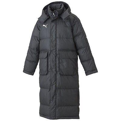 PUMA BTS Long down coat Men's 920214 Black Navy Ebony from Japan | eBay