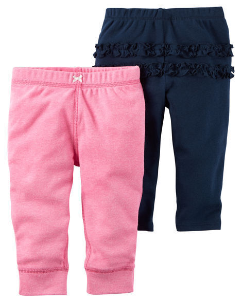 5921f8d86 Carter's Baby Girls' 2-pack Ruffle Pants 24 Months for sale online | eBay