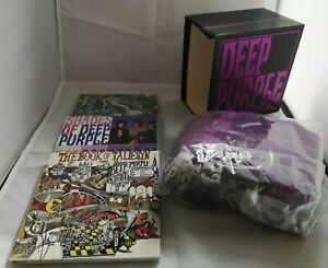 RARE-DEEP-PURPLE-3CD-T-shirt-BOX-Deepest-Trilogy-Japan-NEW-Limited-500-Copies