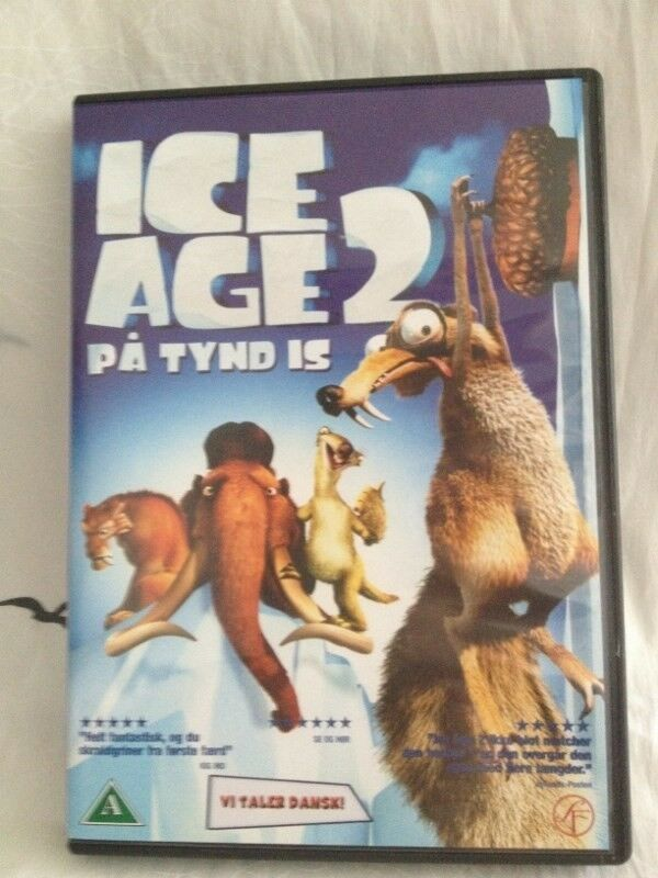 Forskellige dvd'er og Blu-Ray, instruktør Tegnefilm