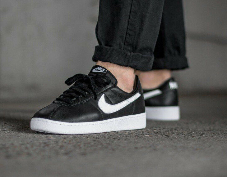 NIKE BRUIN QS BLACK/WHITE /8 /42.5 Wild casual shoes