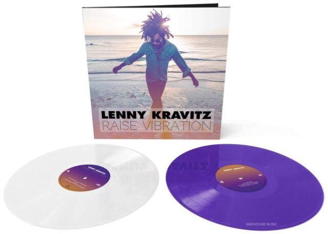 LENNY KRAVITZ LP Raise Vibration LP x 2 COLOURED VINYL + Full Downloads IN STOCK
