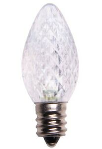 Details About Clear Led Bulb C7 E12 Socket Candelabra Bulb Christmas Light Replacement Bulb