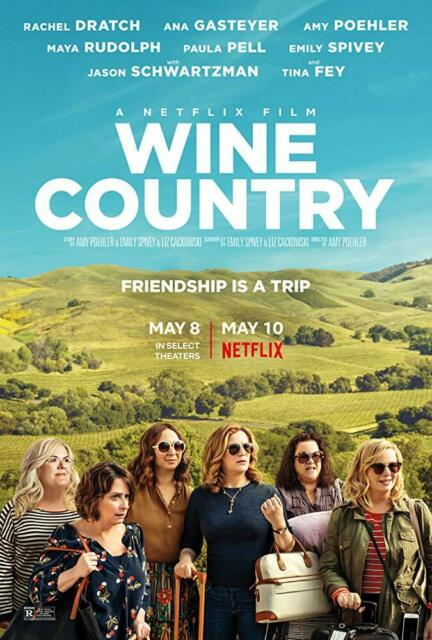 Wine Country (2019)   BRAND NEW Free Shipping With Tracking