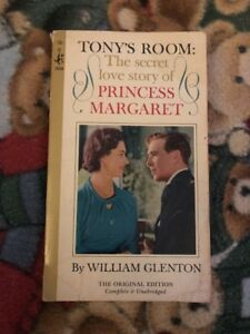 Details about Tony's Room The Secret Love Story Of Princess Margaret by  William Glenton Book