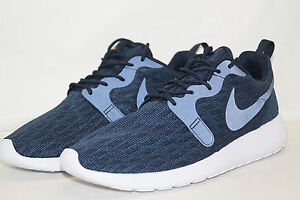 best supplier cheap prices newest Nike Roshe One KJCRD Knit Jacquard Taille 42,5 UK 8 Bleu 777429 ...