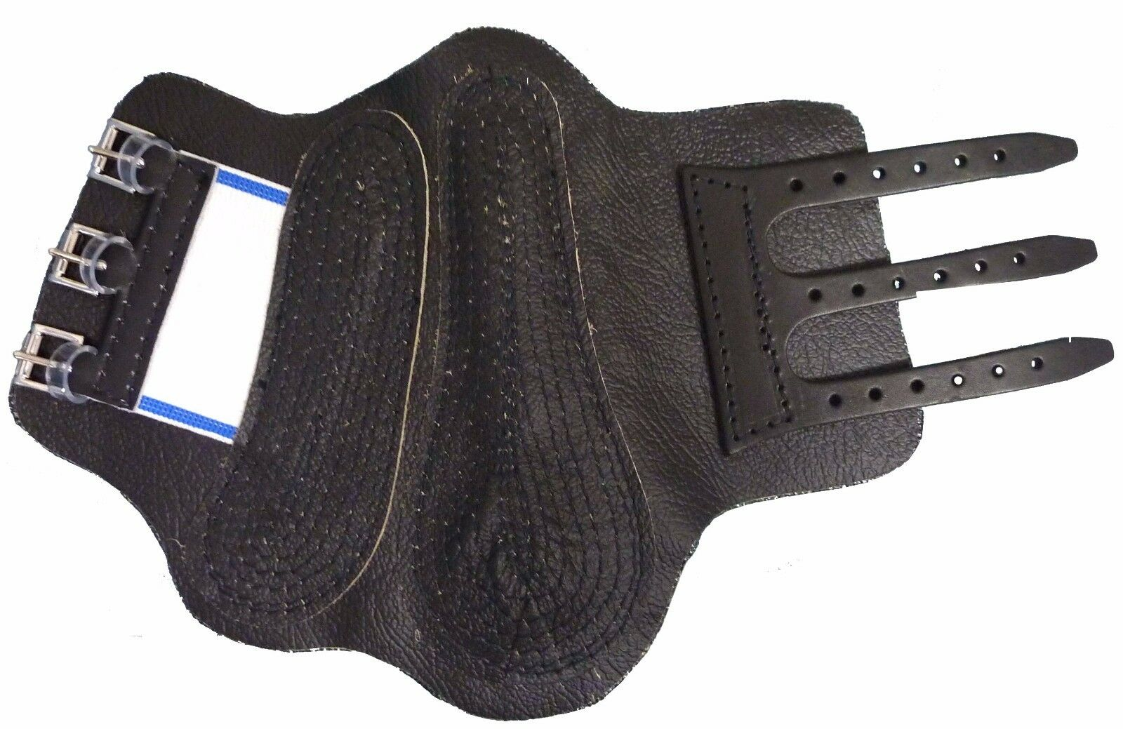 Horse Shin & Tendon LEATHER  Boots -  A Quilted Cap Ensures A Snug Fit -1 Pair