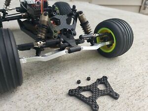 Mini-T 2.0 aluminum FRONT and REAR Shock Tower team losi minit rc truck