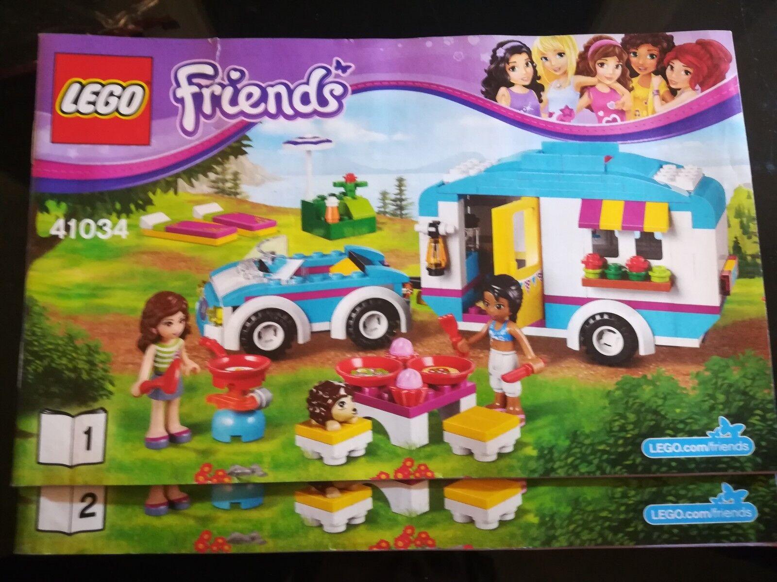 Caravane 41034 Des Vacances Complet Ntrney3346 La Lego Friends 8vmONn0w