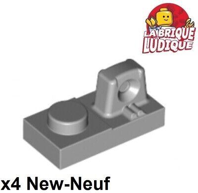gris grey Hinge Plate 1x2 Locking NEUF NEW 8 x LEGO 44567 Plaque Charnière