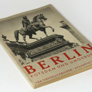 Berlin and Potsdam 1930's - Photo Book w/124 pictures Brandenburg Gate Germany