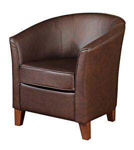 cocktailsessel sessel clubsessel einzelsessel leder echtleder esszimmer ebay. Black Bedroom Furniture Sets. Home Design Ideas