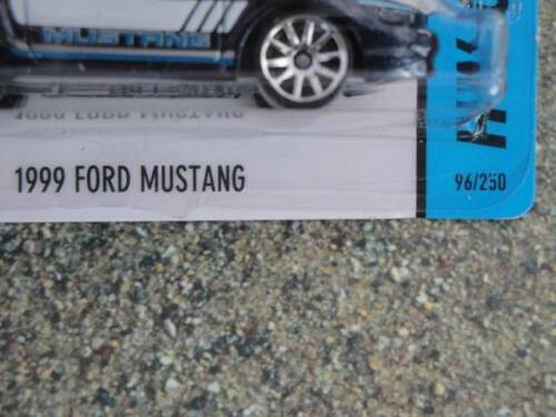 Hot Wheels 2014 #096//250 1999 FORD MUSTANG blue HW CITY