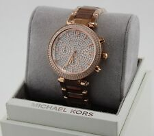 38a86bcd7c1a item 5 NEW AUTHENTIC MICHAEL KORS PARKER ROSE GOLD BROWN CRYSTALS WOMEN S  MK6285 WATCH -NEW AUTHENTIC MICHAEL KORS PARKER ROSE GOLD BROWN CRYSTALS  WOMEN S ...
