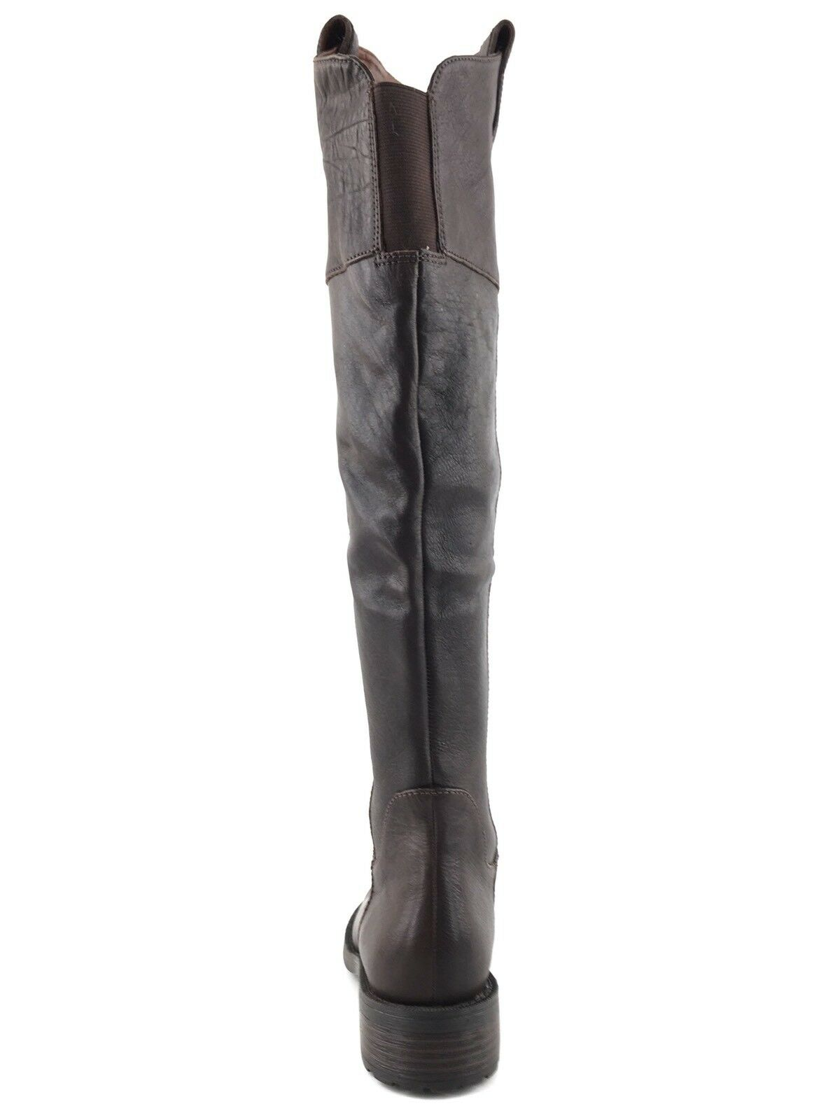 Enzo Angiolini Holdyn Braun Leder Over TheKnee Stiefel Damens's Größe 5.5 M