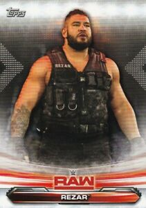 2019-Topps-Wwe-Raw-Lutte-Cartes-a-Collectionner-58-Rezar