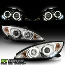 For 2002 2006 Toyota Camry Led Halo Projector Headlights Headlamps Leftright