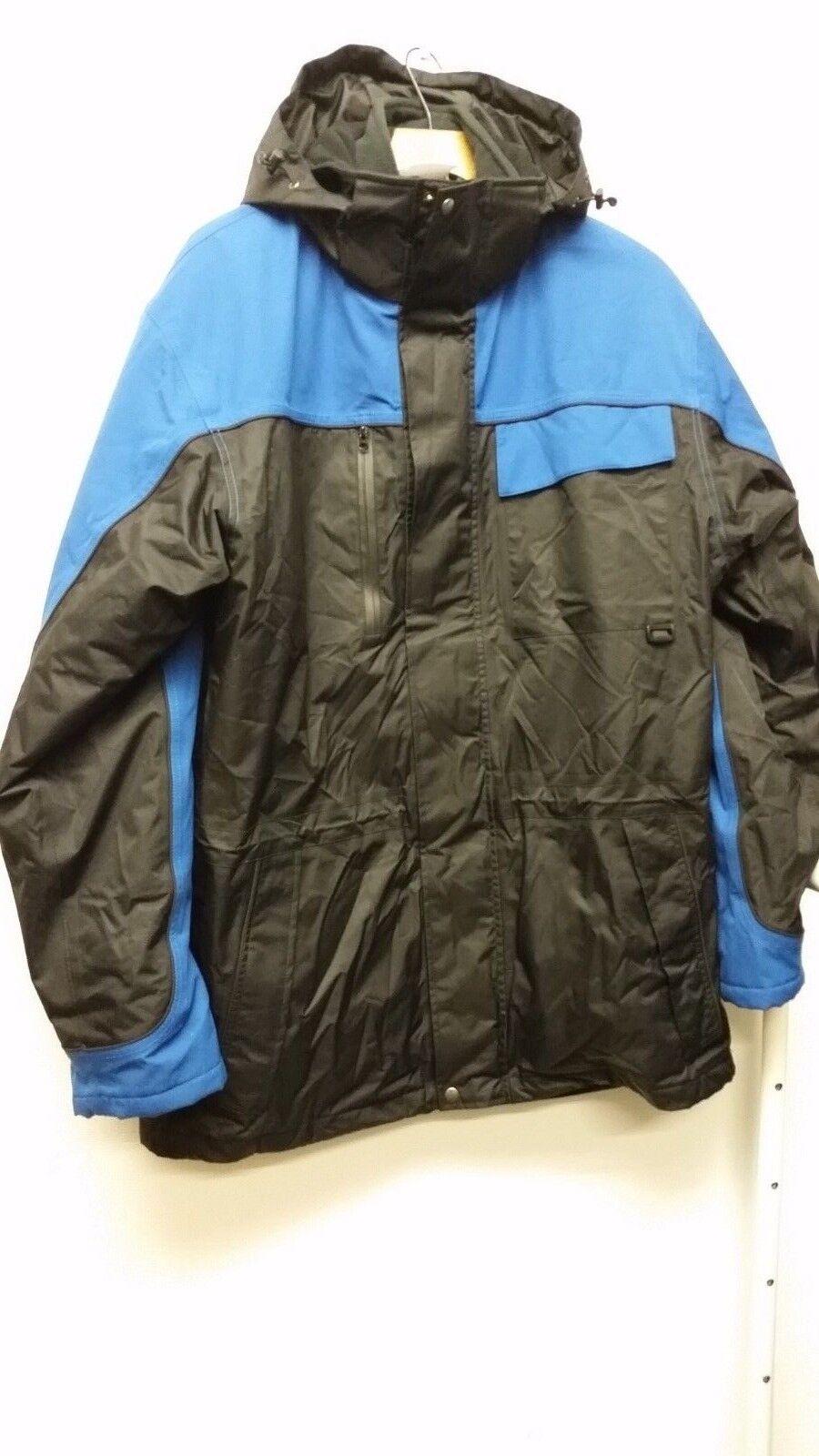 DIEM 2 in 1 Jacket Fishing Thermal Suit Waterproof Fleece Size M B442-10